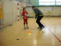 otevřená tréninková jednotka - nácvik uvolnění s míčem